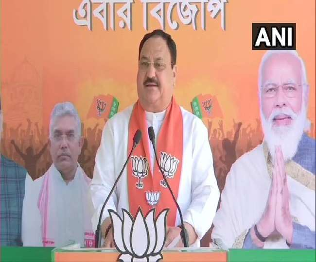 जेपी नड्डा ने बंगाल की मुख्यमंत्री पर बोला हमला, कहा- ममता जी लोग आपके अत्याचार से चाहते हैं मुक्ति