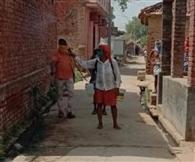 हॉट स्पॉट गांव जेगुरी को किया गया सैनिटाइज