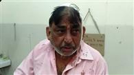 किरयाना व्यापारी पर हमला, दुकान का शटर बंद कर पीटा