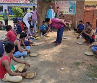 भाजपा के राहत केंद्रों में प्रवासी मजदूरों को मिला भोजन
