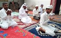 सेन्हा में पढ़ी गई ईद की नमाज