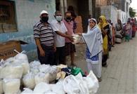 कालोनीवासियों ने की गरीबों की सहायता