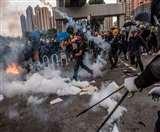हांगकांग पर शिकंजा कसने की तैयारी, चीन ने विरोध प्रदर्शनों को बताया 'आतंकवाद'