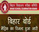 LIVE BSEB, Bihar Board 10th Result 2020: मैट्रिक का रिजल्ट @biharoardonline.bihar.gov.in पर हुआ जारी, एेेसे करें चेक