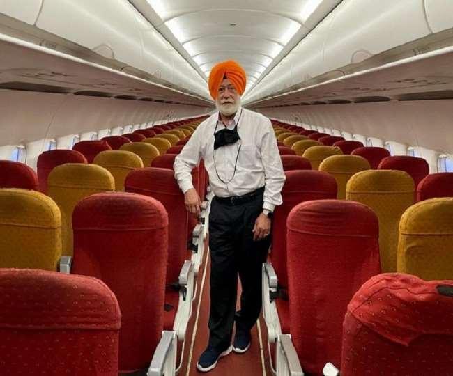 बिजनेसमैन एसपी सिंह ओबराय ने अमृतसर से दुबई का सफर एयर इंडिया के विमान में अकेले तय किया। एएनआइ