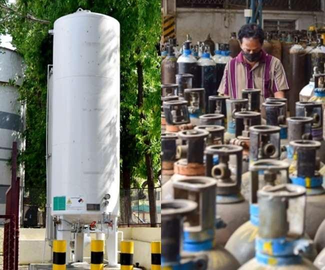राष्ट्रीय कार्य बल ने सुझाव दिया है कि दो-तीन हफ्तों के लिए ऑक्सीजन गैस का अतिरिक्त भंडार रखना चाहिए।