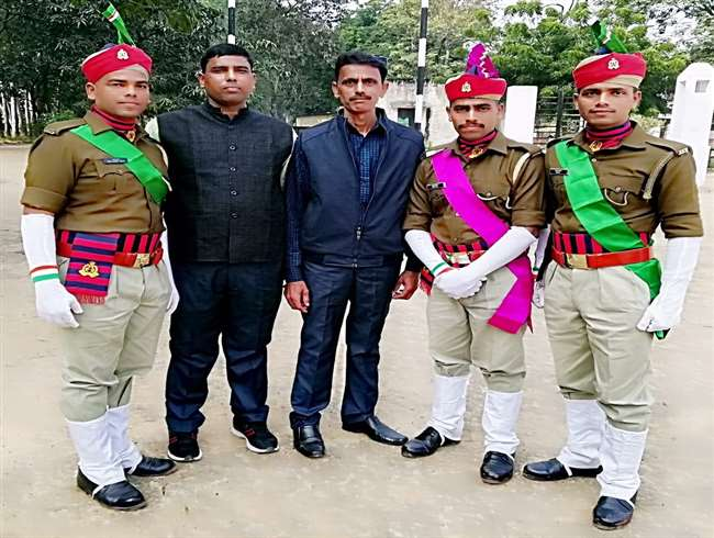 Three brothers are recruited in same police station on same day ...