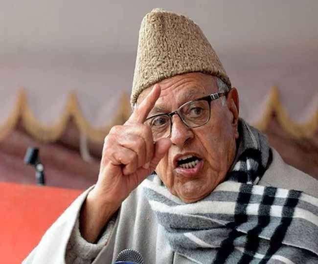 नेशनल कांफ्रेंस के नेता एवं पूर्ववर्ती राज्य जम्मू-कश्मीर के पूर्व मुख्यमंत्री डा फारूक अब्दुल्ला
