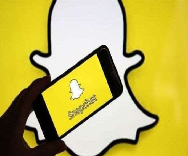 सोशल मीडिया ऐप Snapchat की प्रतिकात्मक फाइल फोटो यह है