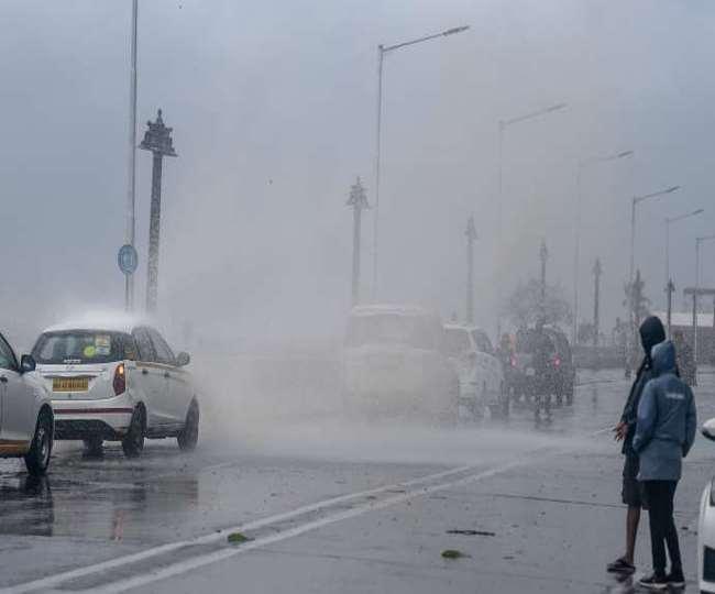 मौसम विभाग ने कई राज्यों में गरज के साथ भारी बारिश का जताया अनुमान