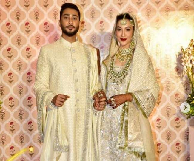 IN PICS Gauahar Khan And Zaid Darbar Nikah Photos : Gauahar Zaid Wedding Photos Viral On Social Media