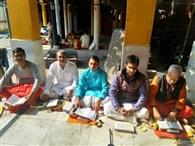 गुप्त व शिशिर नवरात्र पर शक्तिपीठों में दुर्गा सप्तशती पाठ शुरू