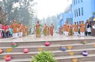 हनुमान चालीस पर प्रदर्शनी, बच्चों ने चुनी टॉप टेन पेंटिग