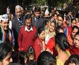 Delhi Election 2020: नई दिल्ली विधानसभा क्षेत्र में सीएम केजरीवाल ने की नुक्कड़ सभा, मांगा वोट