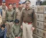 पुलिस ने रामनगर में 35 लाख की अवैध शराब पकड़ी, आबकारी विभाग की फर्जी मोहरे भी बरामद