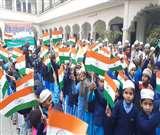 मुरादाबाद मंडल में शान से लहराया तिरंगा, शहीदों को किया नमन Moradabad News
