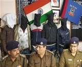 मोतिहारी में बंधन बैंक के 5 लुटेरे रांची में गिरफ्तार, 4 पिस्टल और दो बाइक बरामद; किए अहम खुलासे