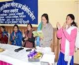 पंचायतों में बेहतर काम करने वालीे महिला जनप्रतिनिधियों को किया सम्मानित nainital news