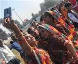 गणतंत्र दिवस की हिसार में धूम, एक हजार स्कूली बच्चों ने किया सूर्य नमस्कार, दिखी अद्भुत झांकिया