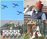 गणतंत्र दिवस समारोह: कश्मीर की झांकी से लेकर मोदी के साफे तक, जानें समारोह की 10 बड़ी बातें