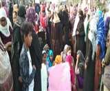 अलीगढ़ के जीवनगढ़ में हजारों महिलाएं सड़क पर, इंटरनेट पर पाबंदी बढ़ी, आज रात 12 बजे तक इंटरनेट बंद Aligarh news