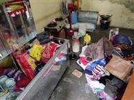 चार स्थानों से हजारों का सामान चोरी