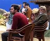 अमिताभ बच्चन ने शेयर की ब्रह्मास्त्र के सेट से कई तस्वीरें, रणबीर कपूर के लिए कही ये बात