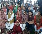 Rajasthan: जेपी नड्डा ने सपरिवार पुष्कर सरोवर में की पूजा-अर्चना