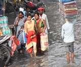 हल्की बारिश से खुली निगम की पोल, शहर में नारकीय हालात Muzaffarpur News
