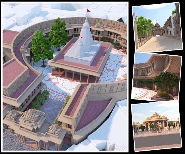Vindhya Corridor dream project of CM Yogi Adityanath taking shape will now  see mother Ganga from mother Vindhyavasini Dham Jagran Special
