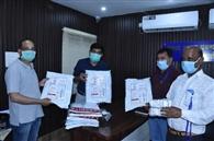 गेल इंडिया ने प्रशासन को सौंपे 575 पीपीई किट
