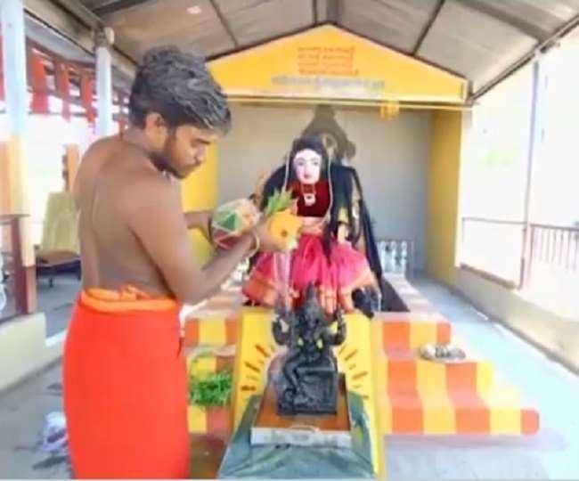 कोयंबटूर के मंदिर में घातक वायरस 'कोरोना' की हुई पूजा अर्चना