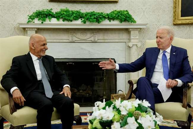 अमेरिकी सेना की वापसी पर अफगानी राष्ट्रपति चिंतित। फाइल फोटो।