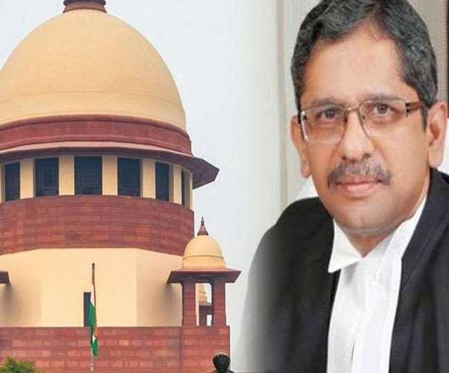 सुप्रीम कोर्ट के प्रधान न्यायाधीश एनवी रमना