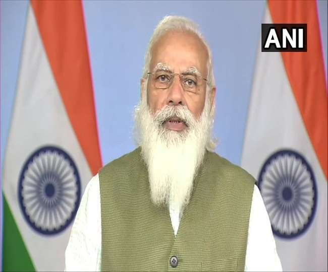 प्रधानमंत्री नरेंद्र मोदी । ( फाइल फोटो )