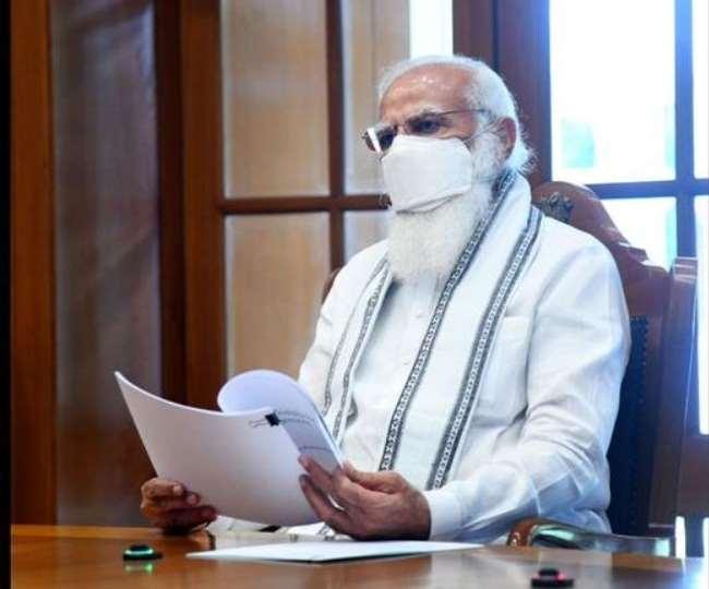 प्रधानमंत्री नरेंद्र मोदी ने शनिवार को देश में चल रहे कोविड-19 टीकाकरण अभियान की समीक्षा की।