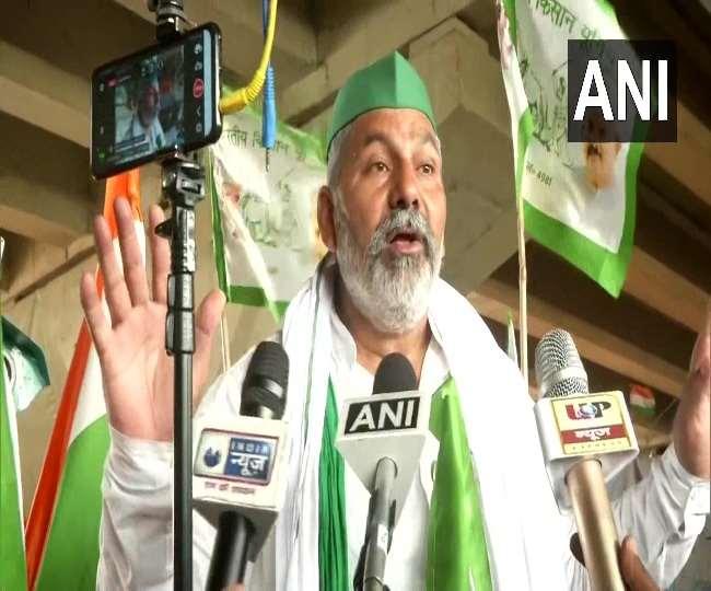 भारतीय किसान यूनियन के प्रवक्ता और किसान नेता राकेश टिकैत