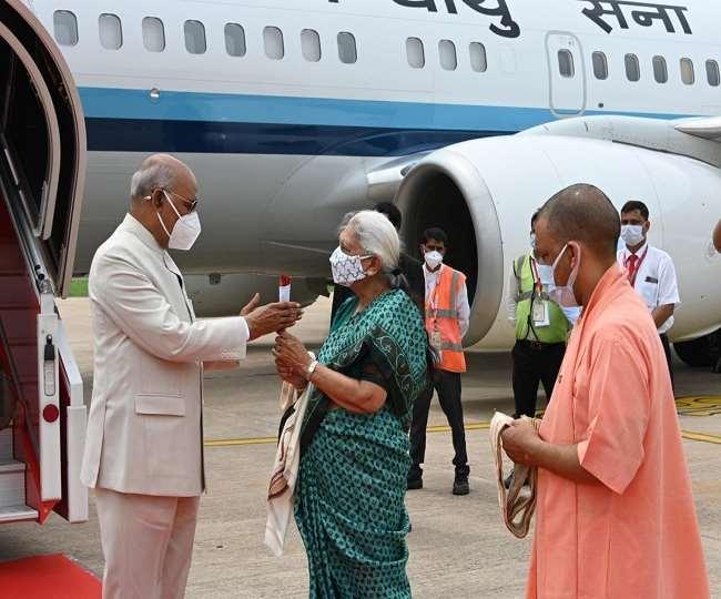 चार दिन के दौरे में राष्ट्रपति रामनाथ कोविन्द के तीन शहरों में कार्यक्रम
