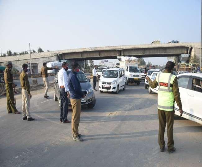 राष्ट्रव्यापी हड़ताल को लेकर पानीपत में पुलिस-प्रशासन चौकस।