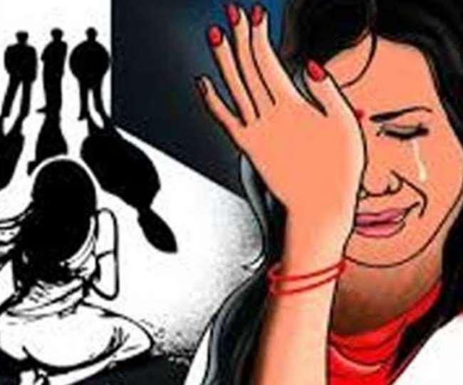 हरियाणा के यमुनानगर में पति को बंधक बनाकर पत्नी से सामूहिक दुष्कर्म।