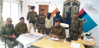 मुंशी अपहरण कांड का मास्टर माइंड समेत तीन गिरफ्तार
