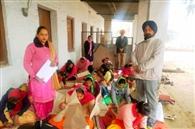 सिलाई कढ़ाई का कोर्स करने वाली 21 शिक्षार्थियों ने दी परीक्षा
