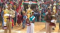 गणतंत्र दिवस की संध्या पर बिखरी सांस्कृतिक छंटा