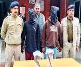 वारदात करके रेलवे की टंकी में छिप जाते थे शातिर चोर, पांच गिरफ्तार, 100 वारदातें कबूली