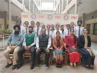 पीआइएमटी के विद्यार्थियों ने परीक्षाओं में मारी बाजी