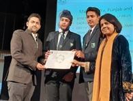 मिलेनियम स्कूल ने ग्रीन स्कूल का पुरस्कार हासिल किया