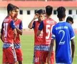 जेएफसी के जूनियर जांबाजों ने स्पोट़र्स ऑथोरिटी को रौंदा Jamshedpur News