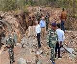 गुड़ाबांदा में पन्ना खदानों में छापेमारी, साजो-सामान छोड़ भाग निकले लोग Jamshedpur News