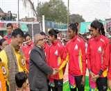 वॉलीबाल : उद्घाटन मैच में मुंबई ने SSB लखनऊ को हराया Gorakhpur news