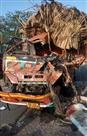 सड़क दुर्घटना में खलासी की मौत